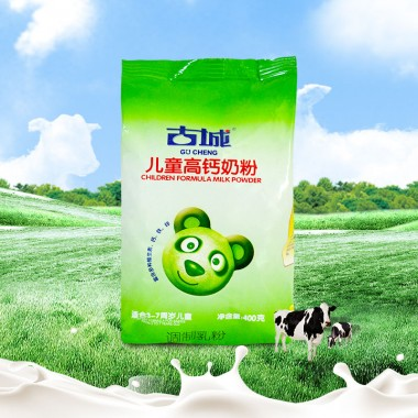 儿童高钙奶粉400g