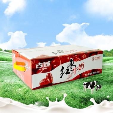220ml古城枕装红枣奶