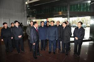 省委书记王儒林在yabo登录亚博官网欧冠买球投注调研