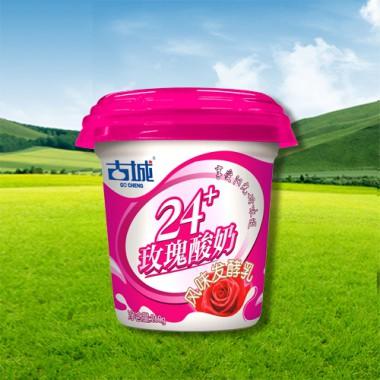24+三角杯 玫瑰酸牛奶