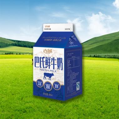 屋顶包-巴氏鲜牛奶