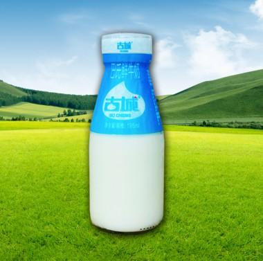 瓶装巴氏鲜牛奶